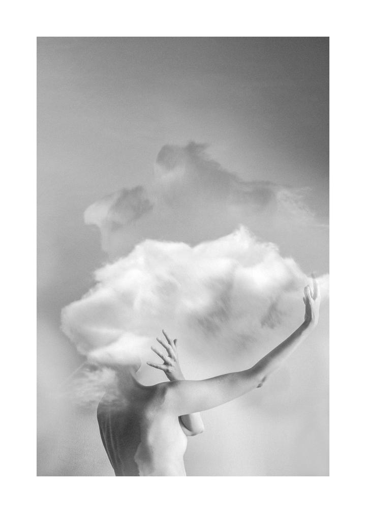 "Maja Planinac    #13 (Cloud)   Photographic print on metal  4""x 6""    $ 100.00"