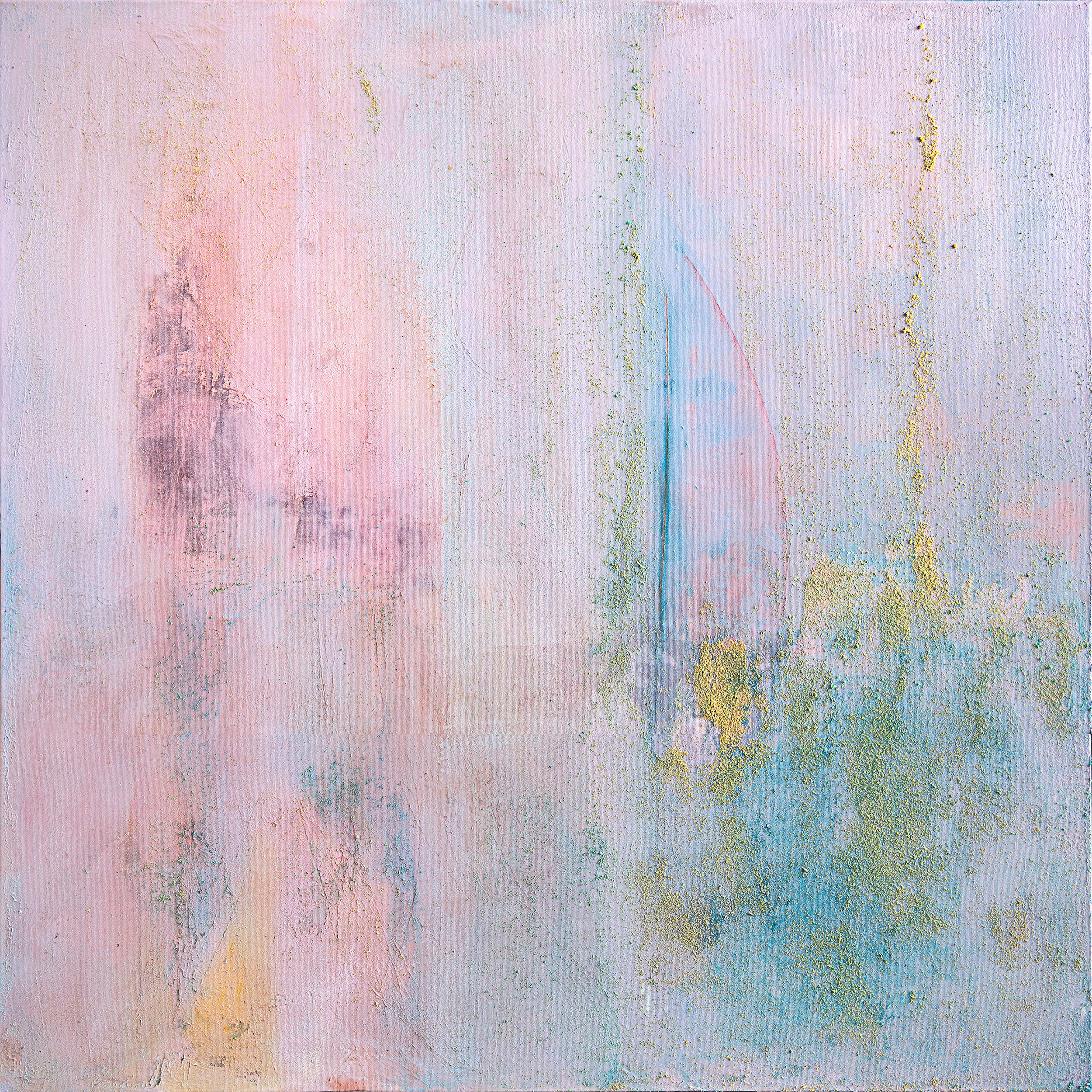 Tomorrow is another day -100x100x4 cm (2018)  by  Cornelia Petrea - Abstract Art