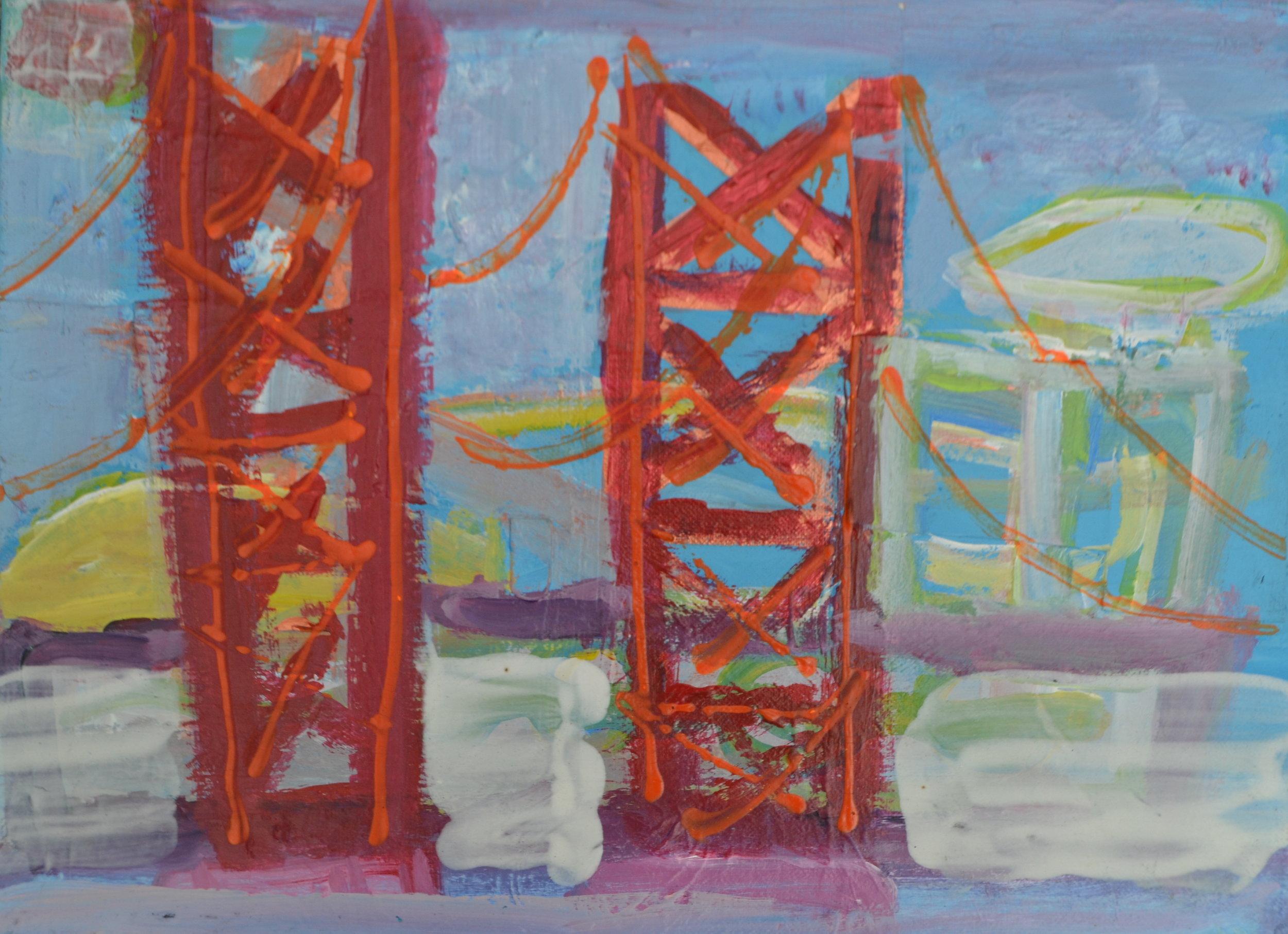 The Bridge ,  by Jeffrey Haines