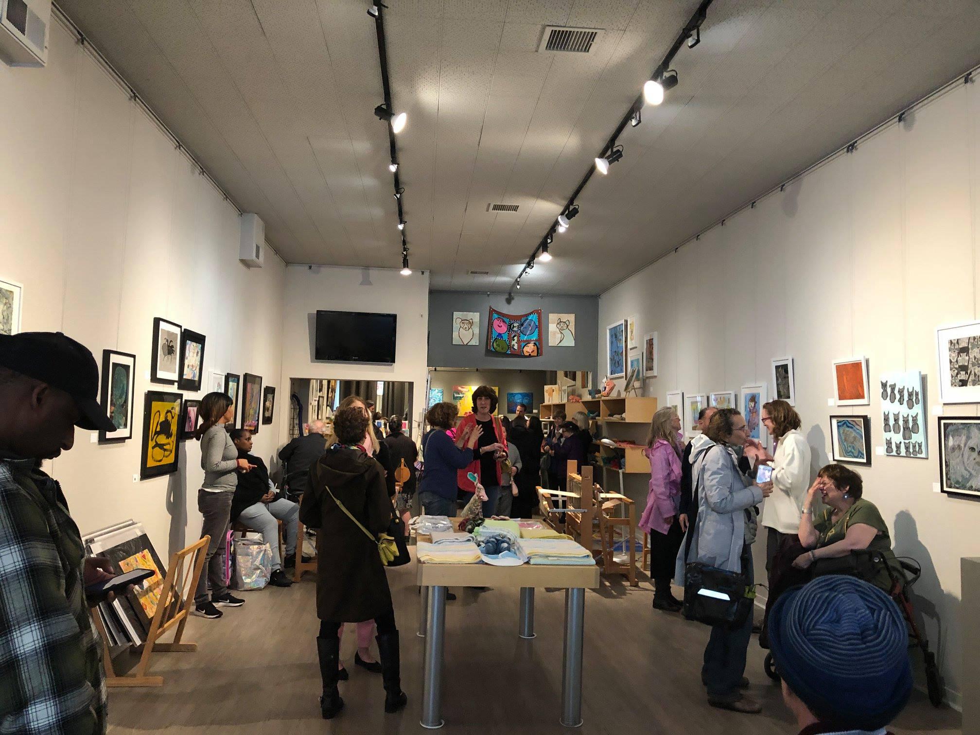 """Creatures"" Artist Reception at Artist Within"