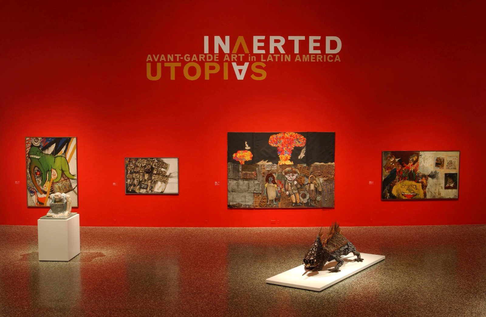 From  Inverted Utopias: Avant-Garde Art in Latin America