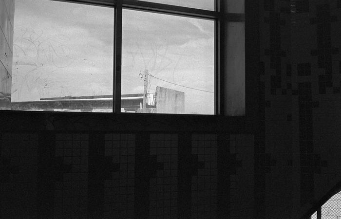 Frankford, Philadelphia,      by    Ian Macleod,  Print from 35mm negative, 11 x 16 in, 2014