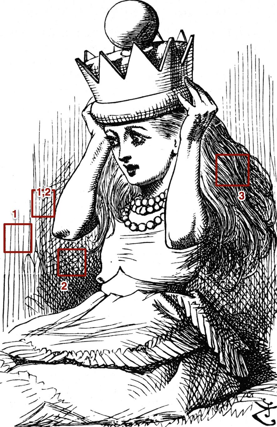 John Tenniel's Interpretation of Alice Liddel