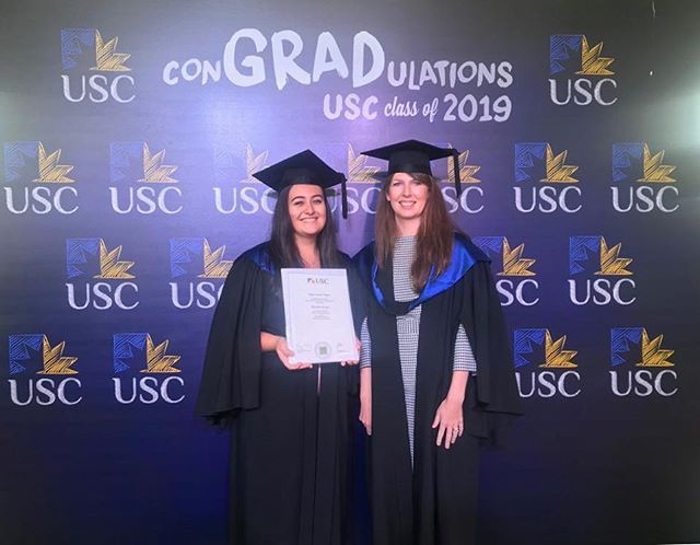 So proud to see our very own Tegan Taylor graduate from @usc.australia today 👩🏻‍🎓 We are very fortunate to have her at @lucywoodfamilylaw | It was also a privilege to be invited to take part in the academic procession and see Chief Justice Susan Kiefel recognised with an Honourary Doctorate. An inspiring speech by an inspirational woman