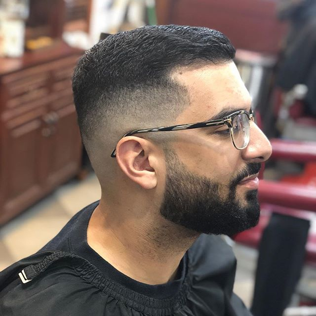 Valentine's Day was busy #midfade#barber#losangeles#hollywood#batsonbarbershop