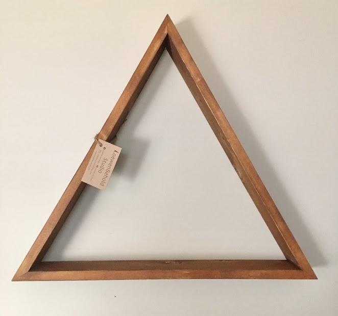 Original Triangle Shelf (Large Size) $40 - Medium Brown