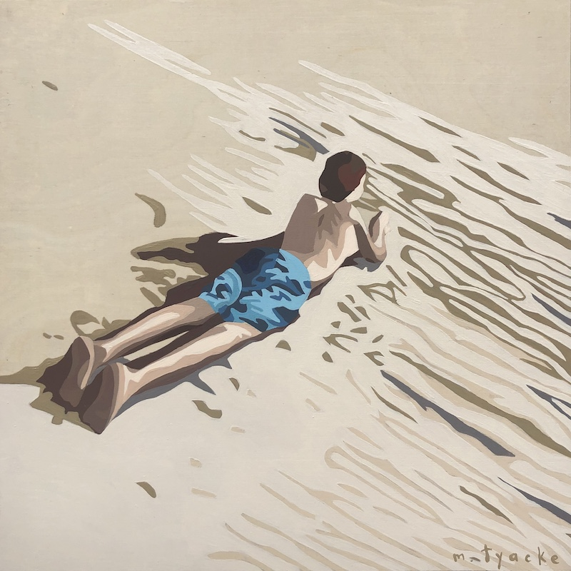 🔴SOLD Monique Tyacke  'Written in the Sand'