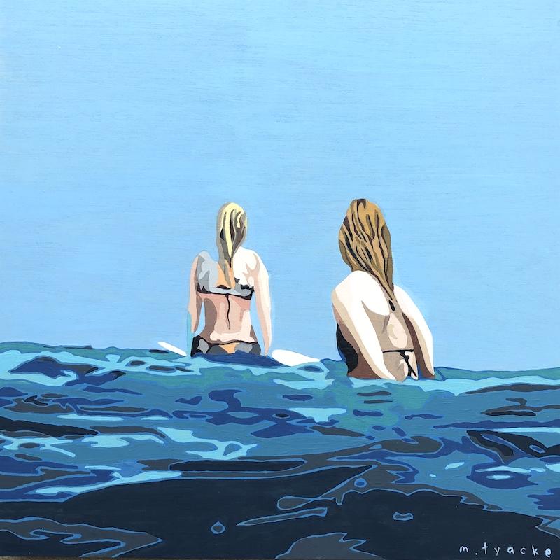 🔴SOLD Monique Tyacke  'Summertime Blues'