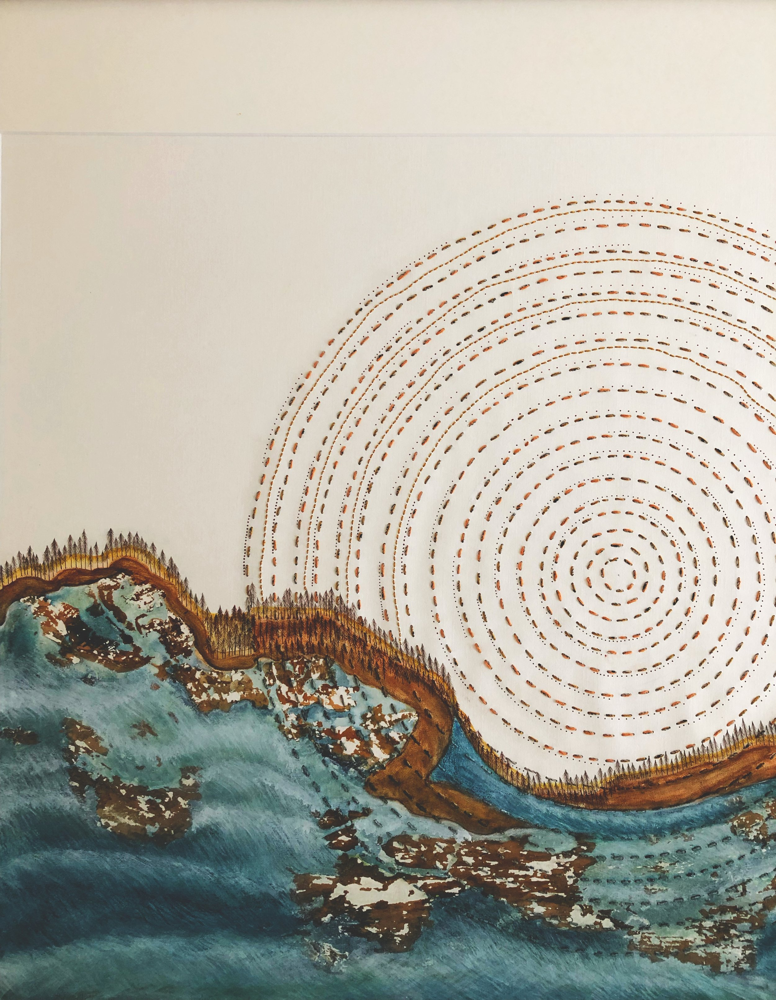 Tracy Dickason -  Melaleuca Sunrise - $1550