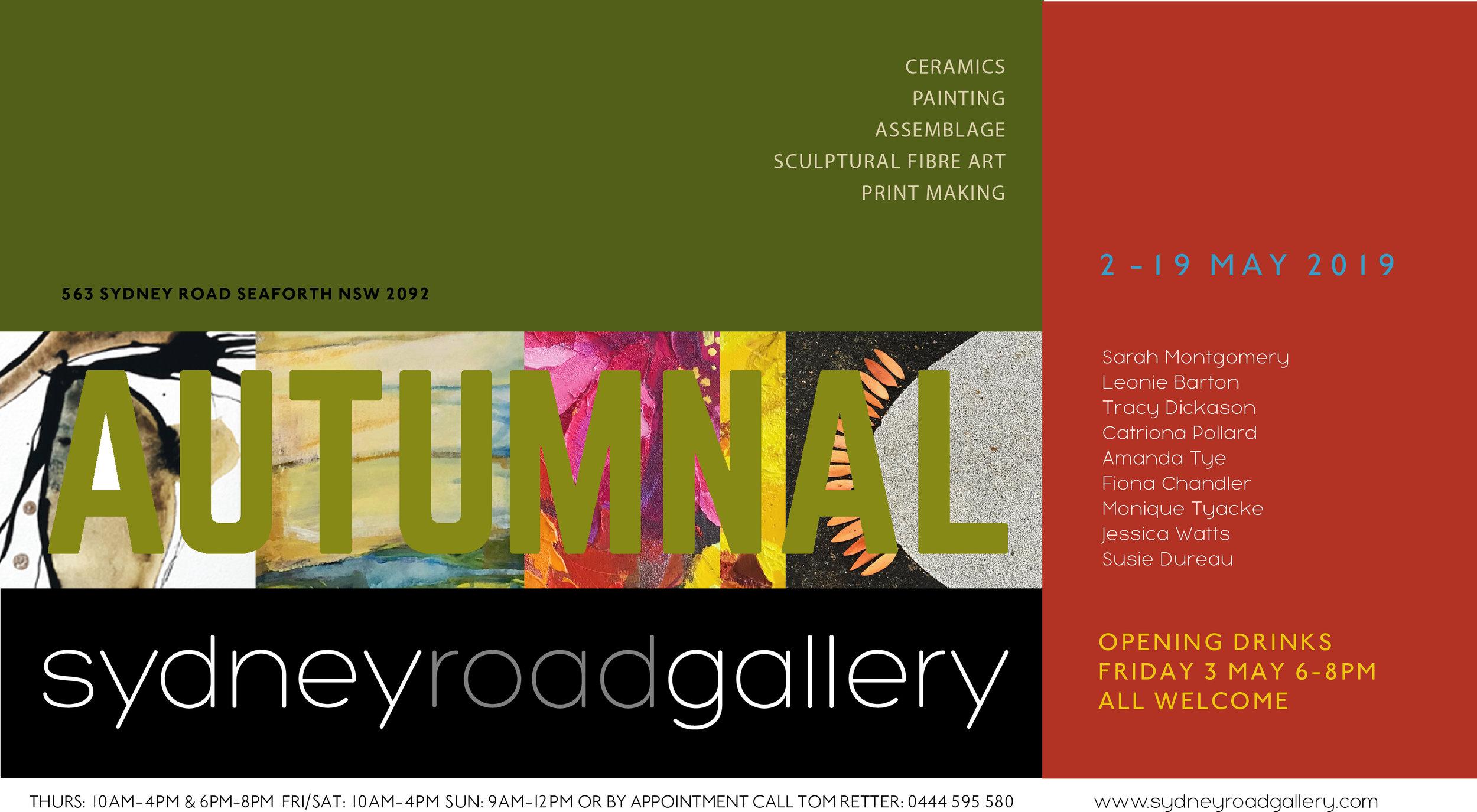 autumnal - a group showOnline Catalogue