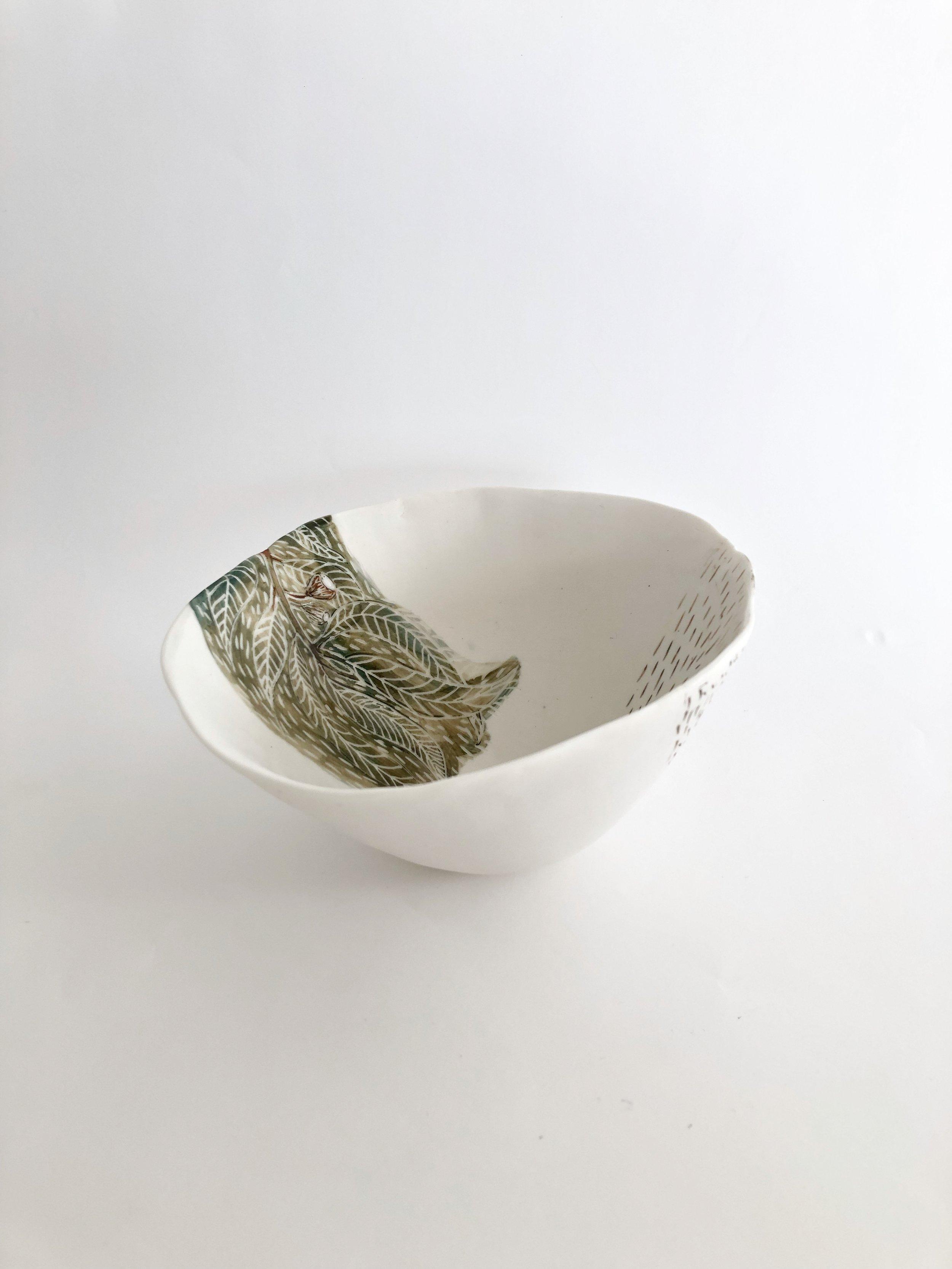 Tracy Dickason 'Nature's Way Bowl IV' $165