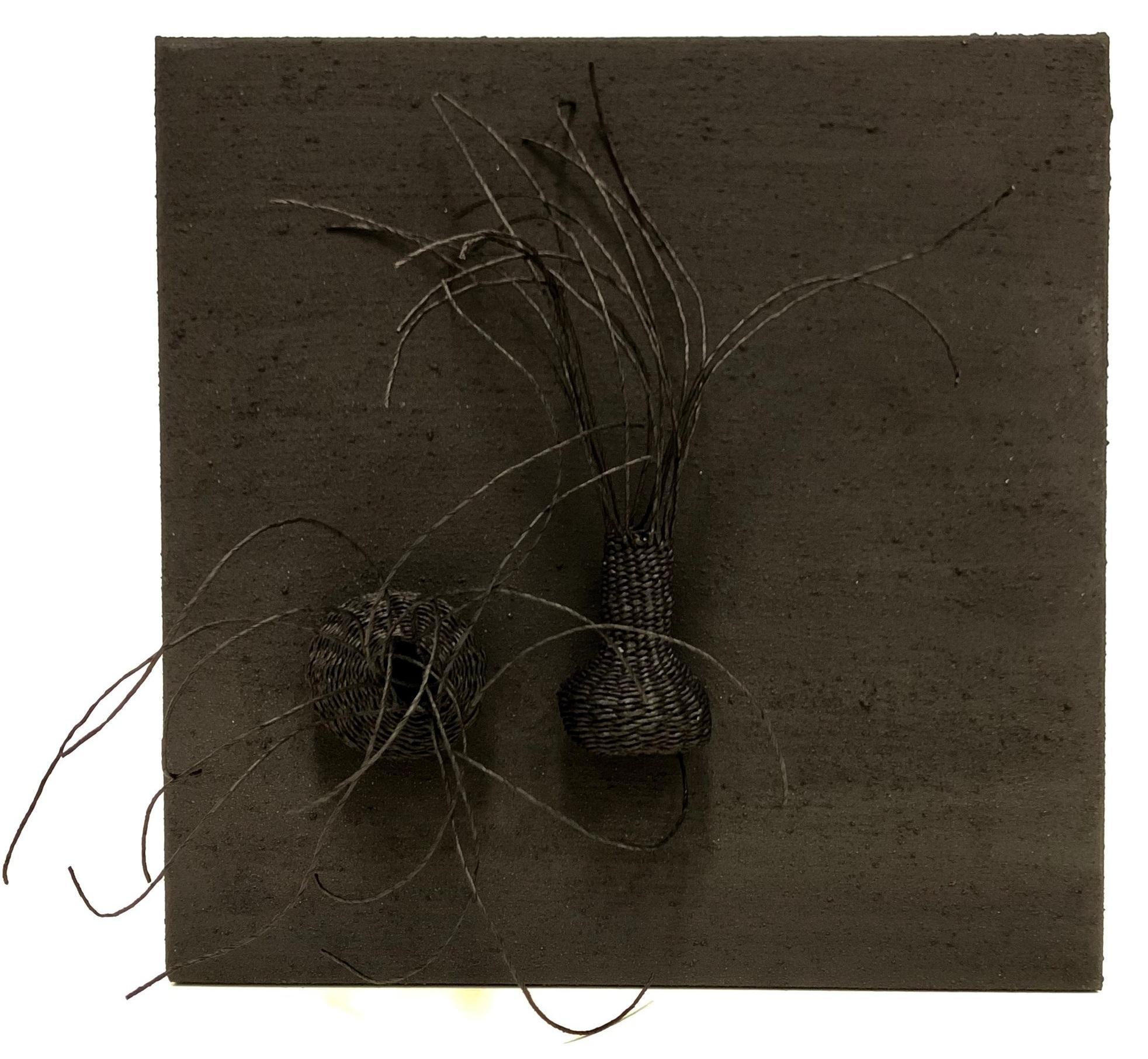 Catriona Pollard 'In The Black I' $420