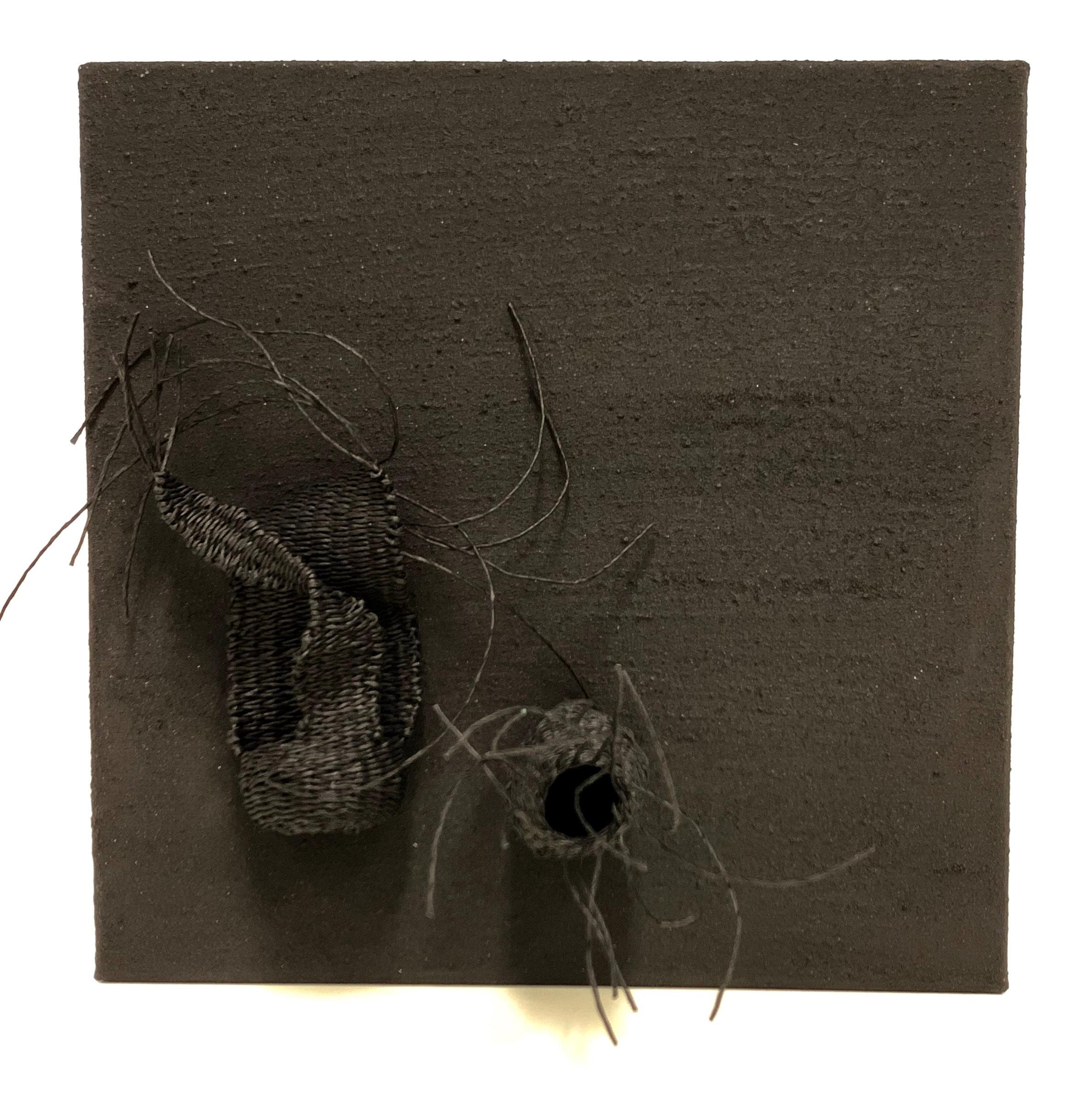 Catriona Pollard 'In The Black II' $420