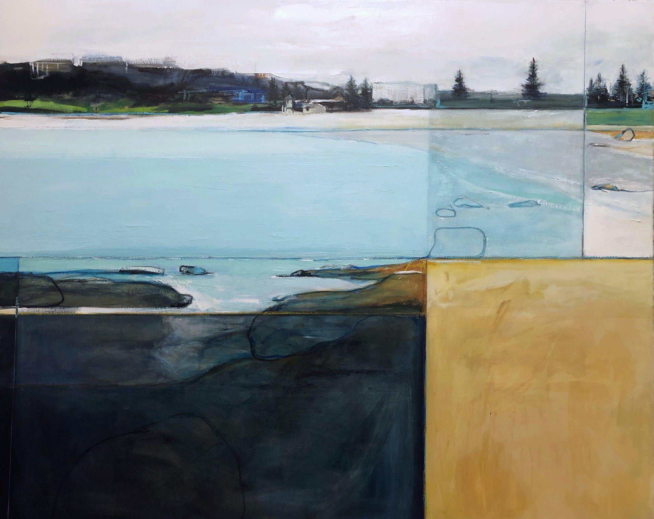 Amanda Tye 'Looking back at Freshwater Beach' $3350