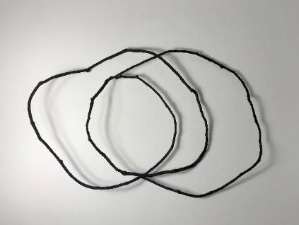'Circling Black' - $950