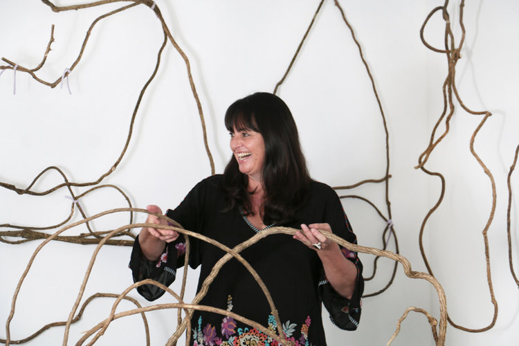 Catriona Pollard   Catriona Pollard's work is inspired by the connection and relationship we have with our environment and the beauty it shares with us. As an accomplished contemporary sculptural basketry artist, she is gifted with the ability to see the extraordinary in the ordinary.    Enquire         Catriona on Instagram        www.theartofweaving.com.au