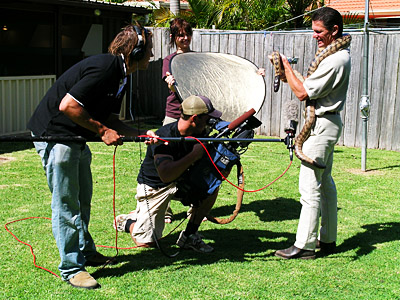 "Video production with Chris and Jeff Granger from Granger productions for the World Around Us special called ""Deadly Destinations"".  This segment was shown nationally on the 28th June 2005."