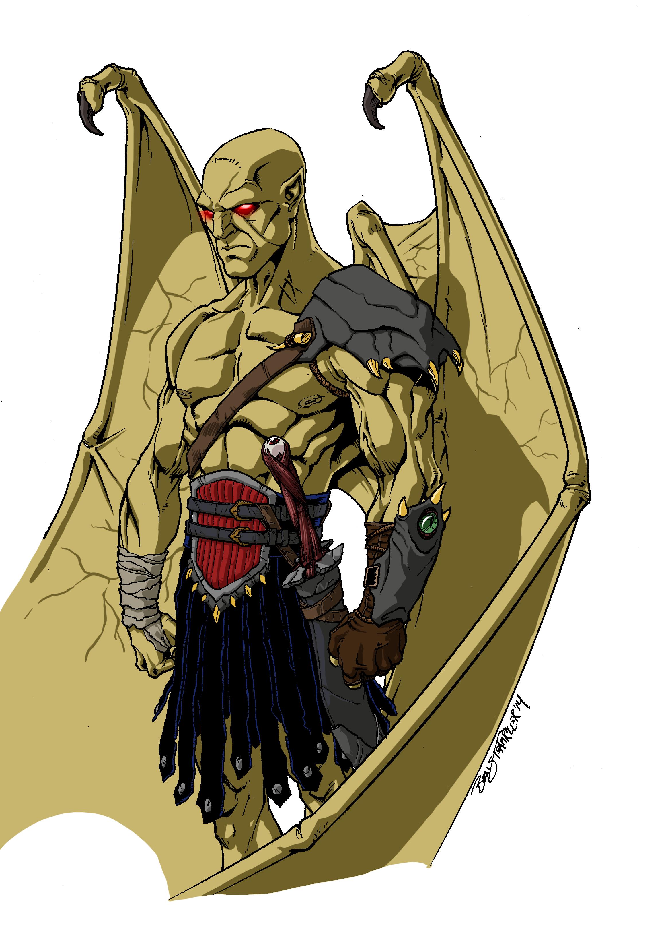 """Iago for """"Demon Plague"""""""