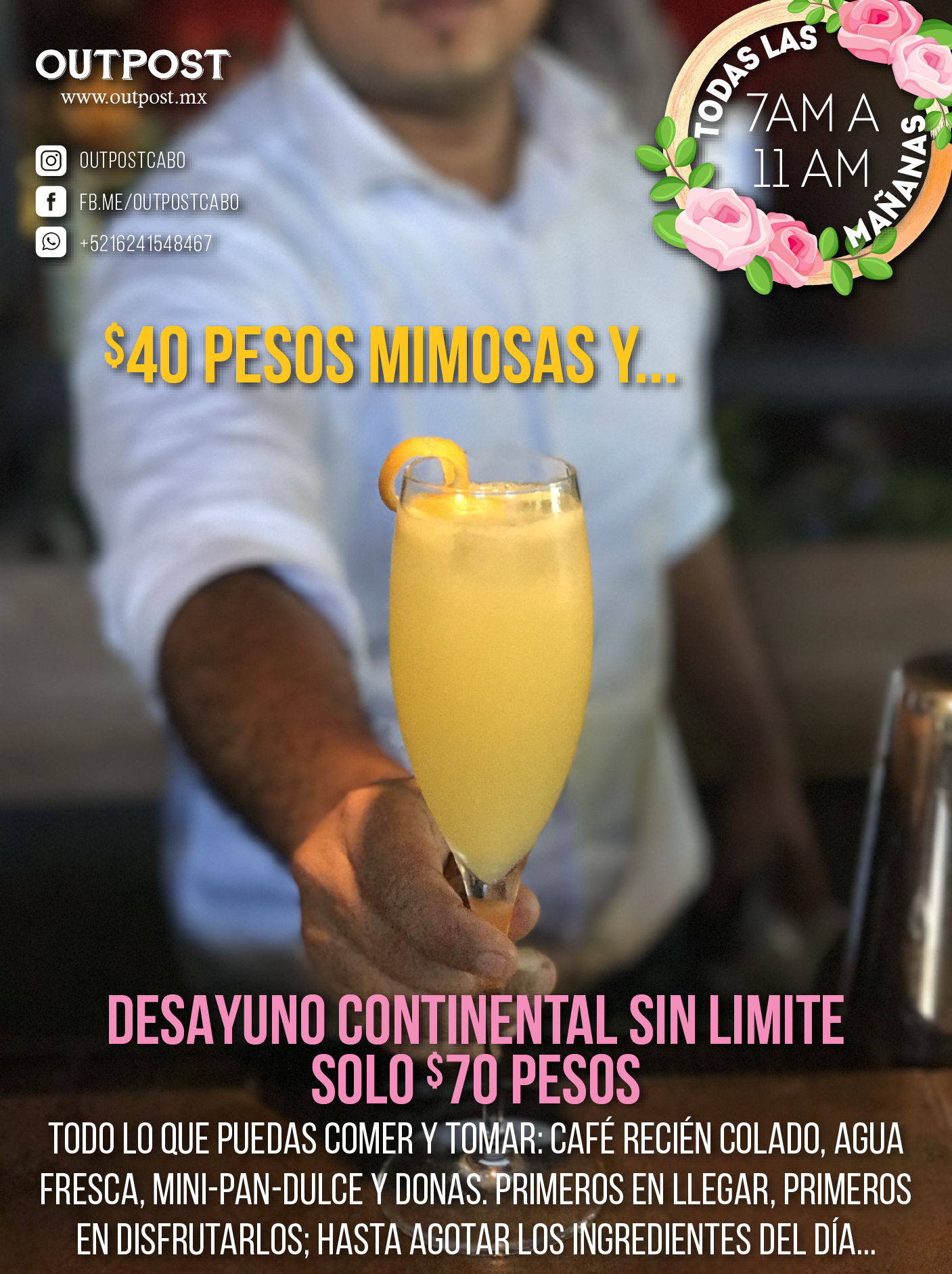 mimosa breakfast outpost cabo flyer.png