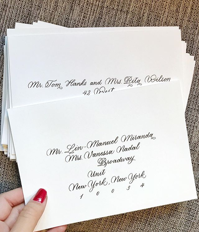 I got a pleasant surprise when I saw the guest list for this wedding - color me star struck! (But don't worry, I blocked out the identifying details for privacy 🙃) ⠀⠀⠀⠀⠀⠀⠀⠀⠀