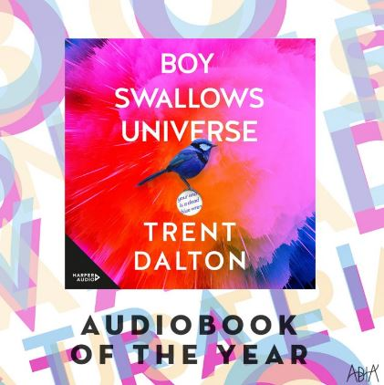 Audio Book of the Year   Boy Swallows Universe by Trent Dalton