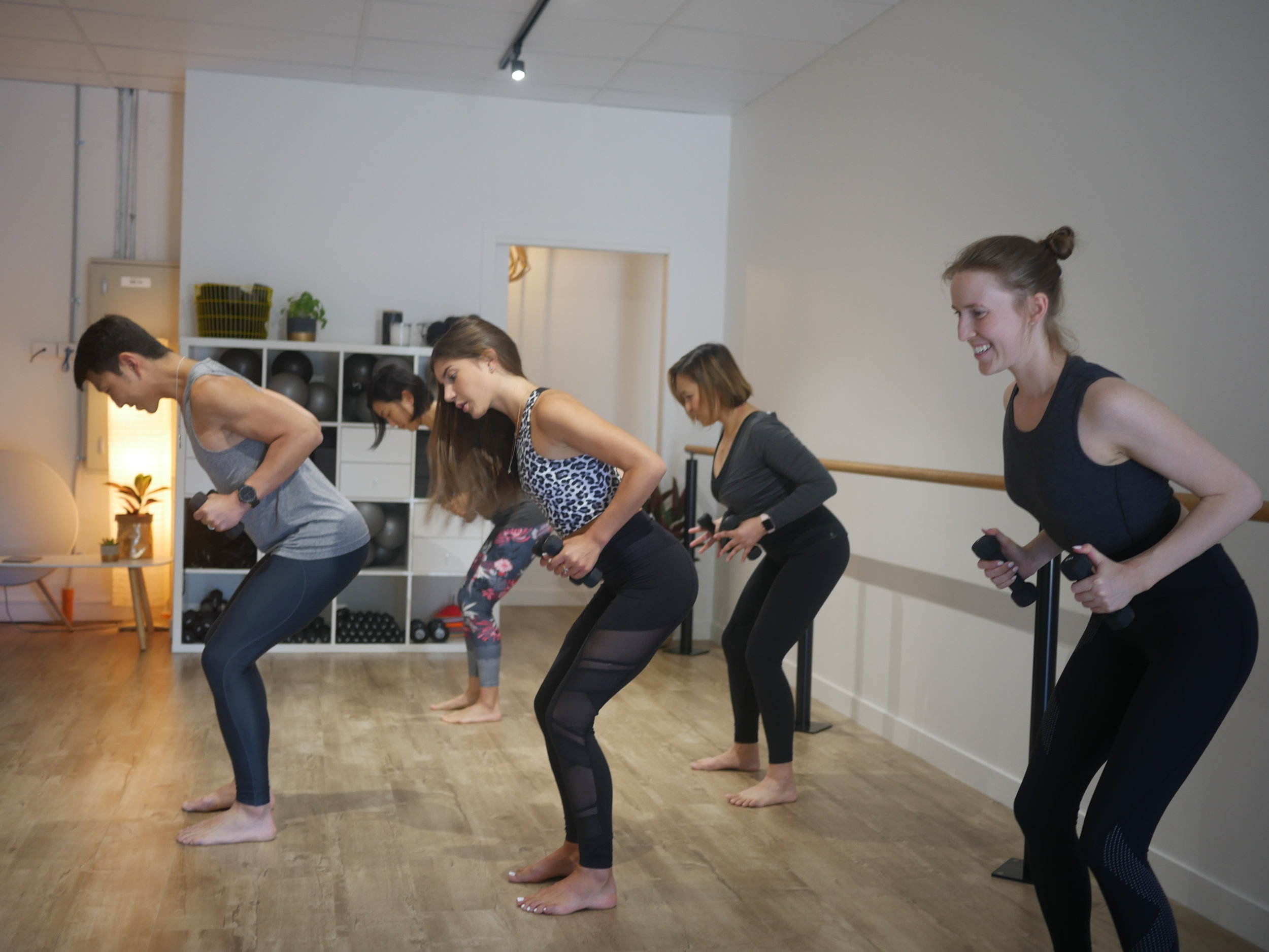 Barre HIIT - Taking S3 Barre to a new level. Same barre with a twist. Be prepared to work up a sweat with this dynamic workout incorporating fast paced HIIT based exercises to give you that extra cardio boost!