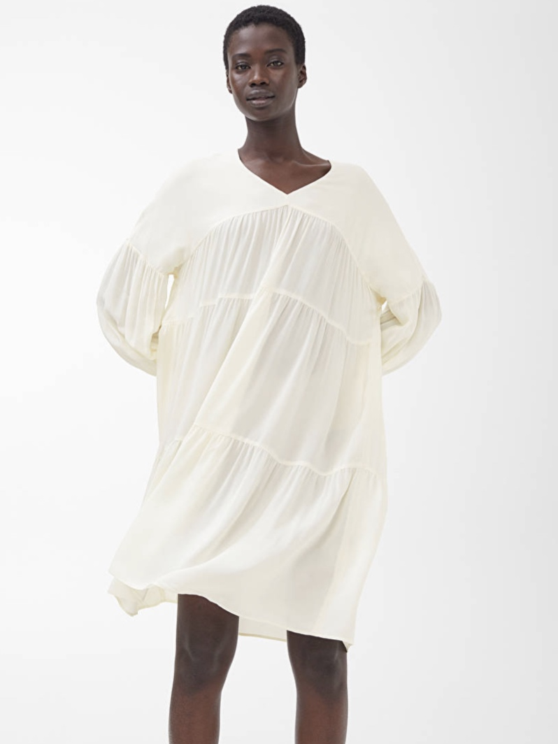 Arket Short Ruffled Dress (£79.00)