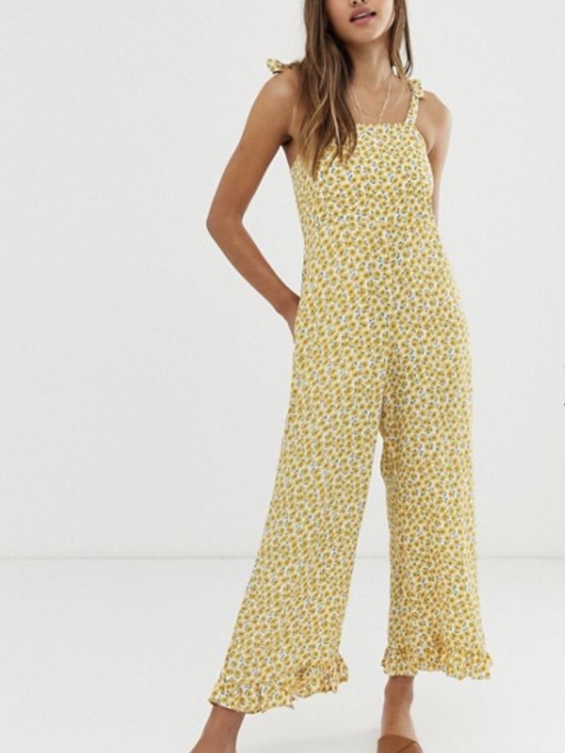 Faithfull Frankie Floral Cami Jumpsuit (£137.00)