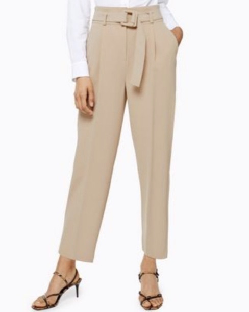 Topshop Buckle Peg Trousers (£36.00)