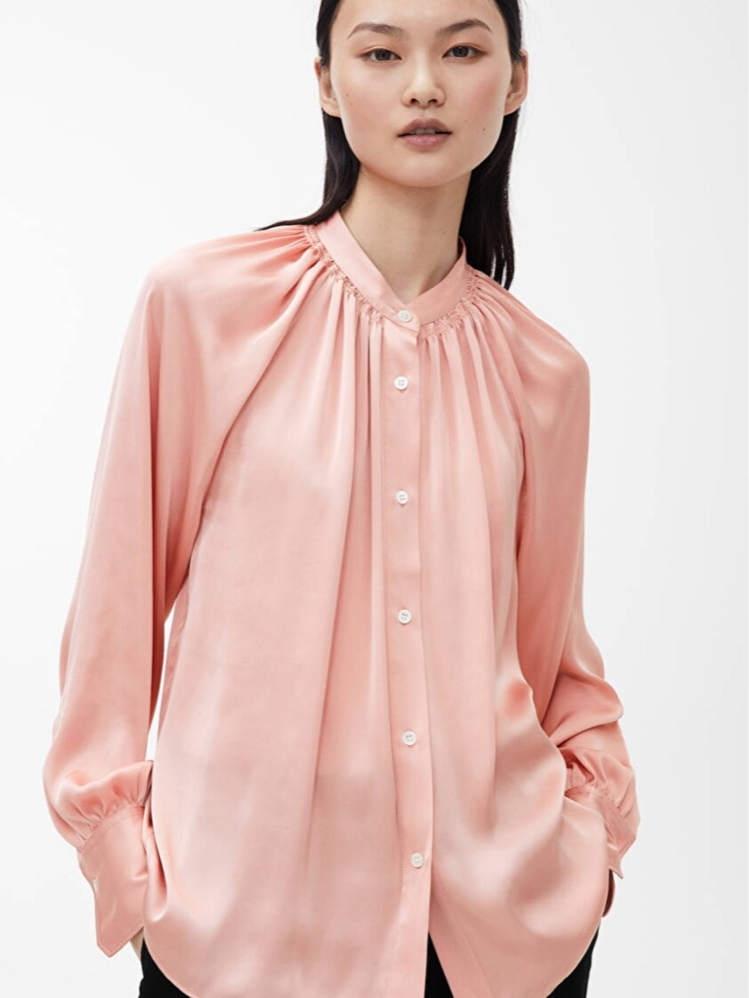 Satin Blouse (£59.00) - Arket
