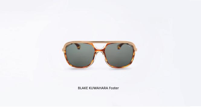 Gwathmey series sunglasses from Blake kuwahara