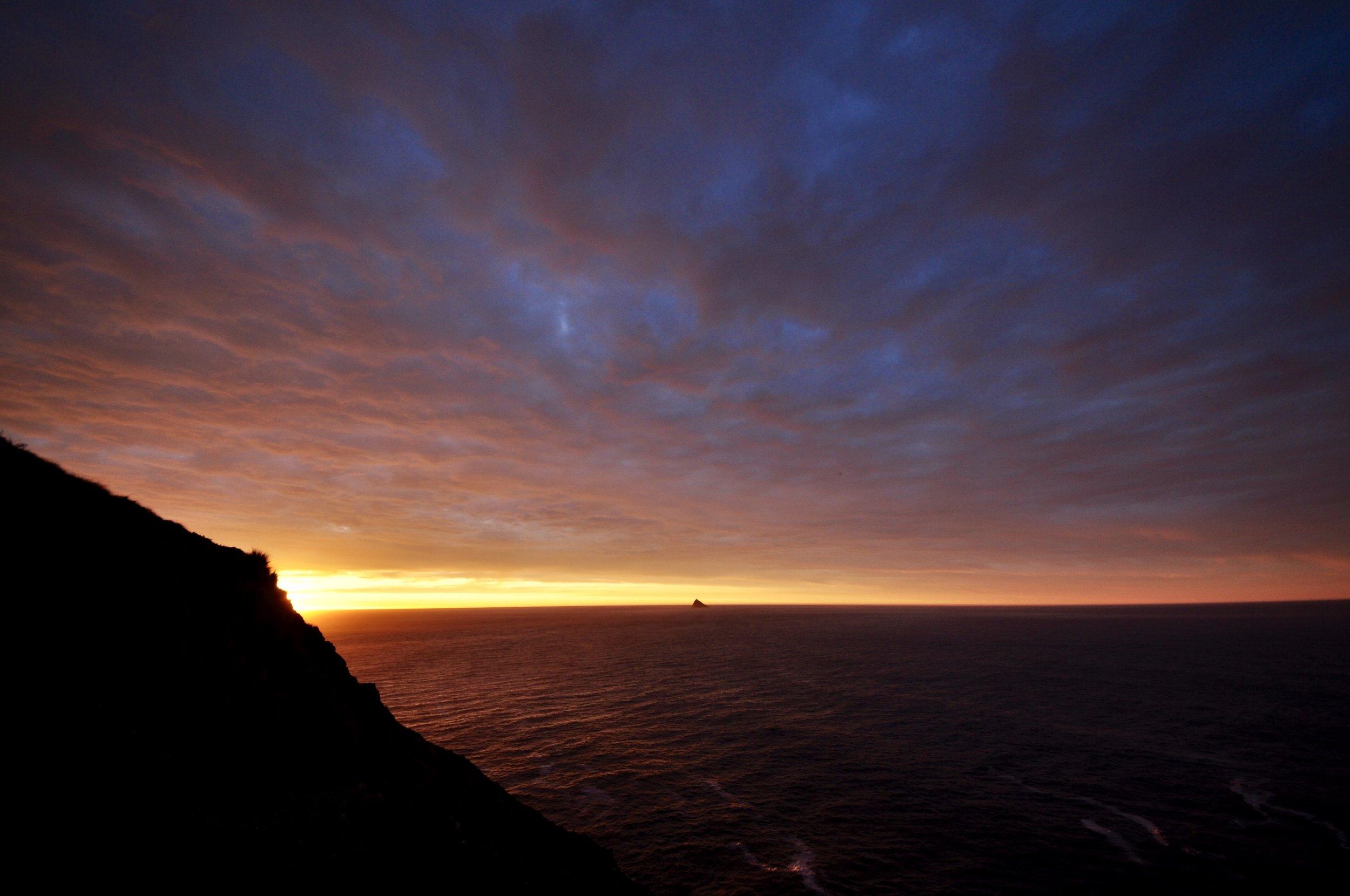 Sunrise Over Mewstone