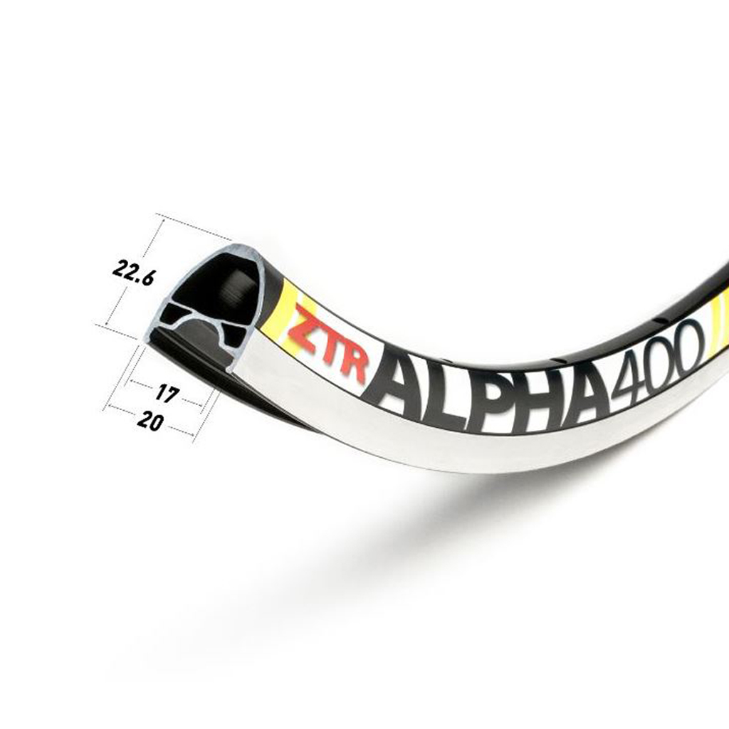 Alpha 400 Rim - SGD $280