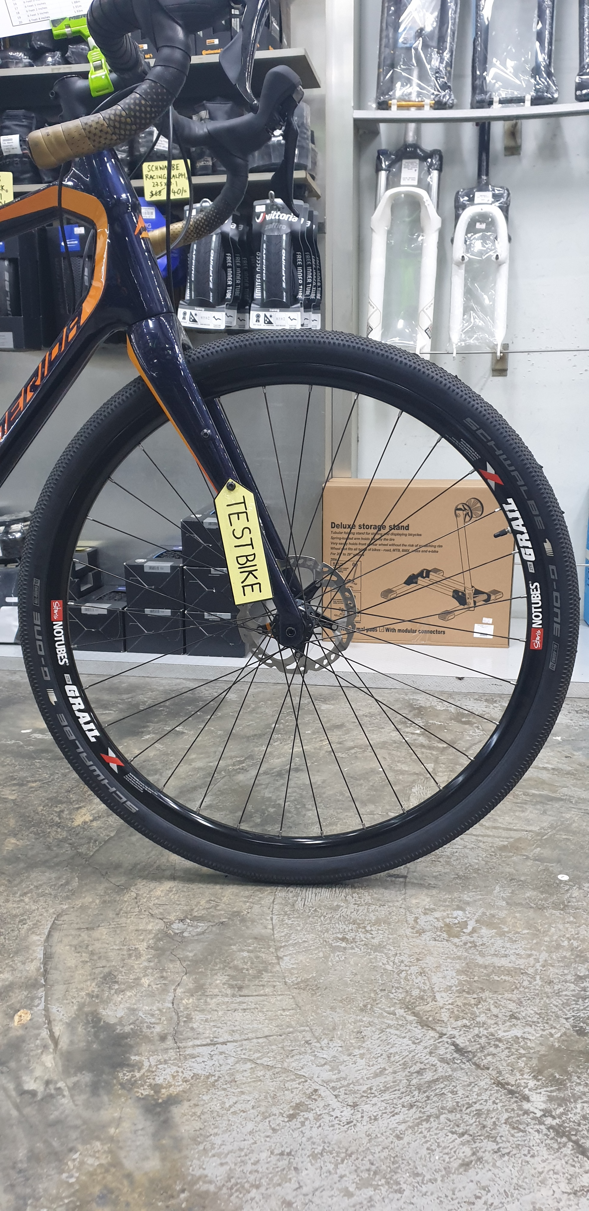 Example:  Image of Wheelset [to verify 32 spokes]