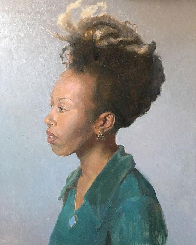 Corinne #portrait #painting #classicalrealism #wip