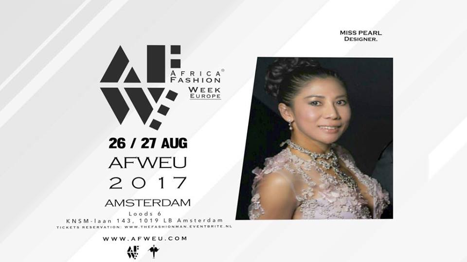 Miss Pearl Is At Afweu Amsterdam On August 26th Afweu