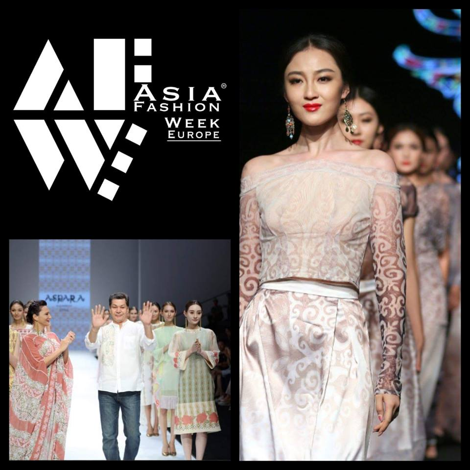 Aydarhan Kaliev/Aspara - Designer Aydarhan Kaliev/Aspara is attending to ASIA FASHION WEEK EUROPE in Arnhem!Date: 25th November 2017Web:http://www.afweu-asia.comVenue:www.eusebius.nlTickets:www.afweu-asia.eventbrite.nlFacebook:www.facebook.com/AFWEU