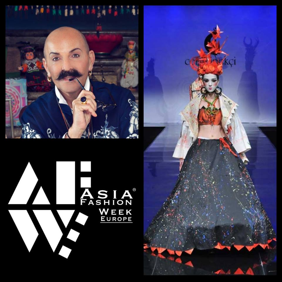 Cemil Anka Ipekci  - Cemil Anka Ipekci, who is one of the most famous designers in Turkey is attending to ASIA FASHION WEEK EUROPE in Arnhem!Date: 26th November 2017Web: www.asia-afweu.comVenue: www.eusebius.nlTickets: www.afweu-asia.eventbrite.nlFacebook: www.facebook.com/AFWEU