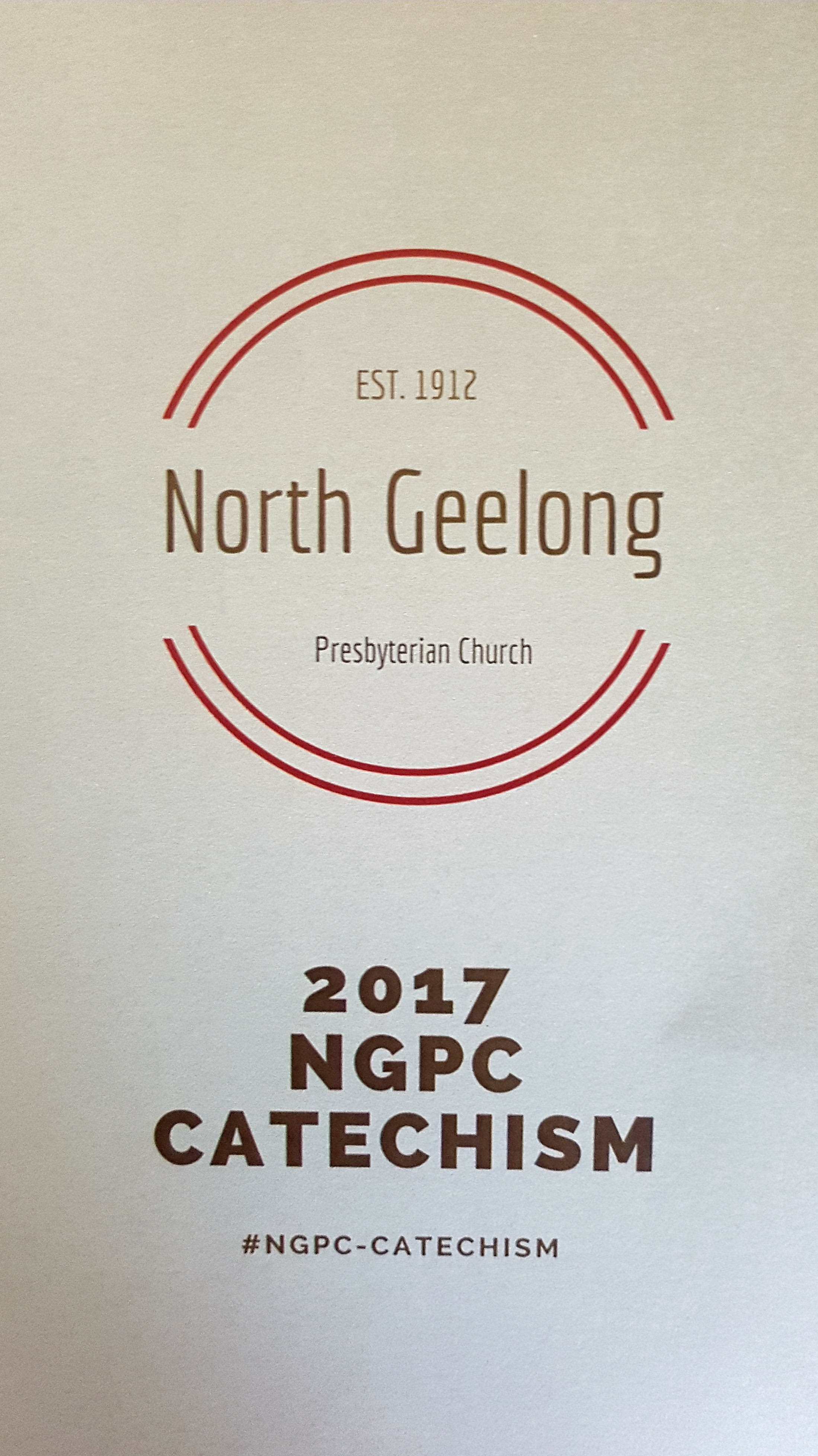 NGPC Catechism -