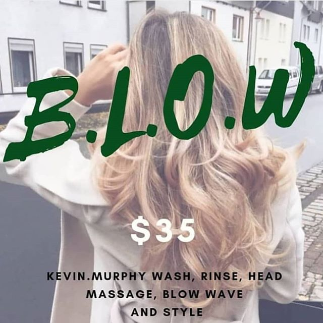 Treat yo' self // Kevin.Murphy wash and rinse customised to suit your hair type and its needs ❤  Add on treatments/Olaplex/toners available 👐