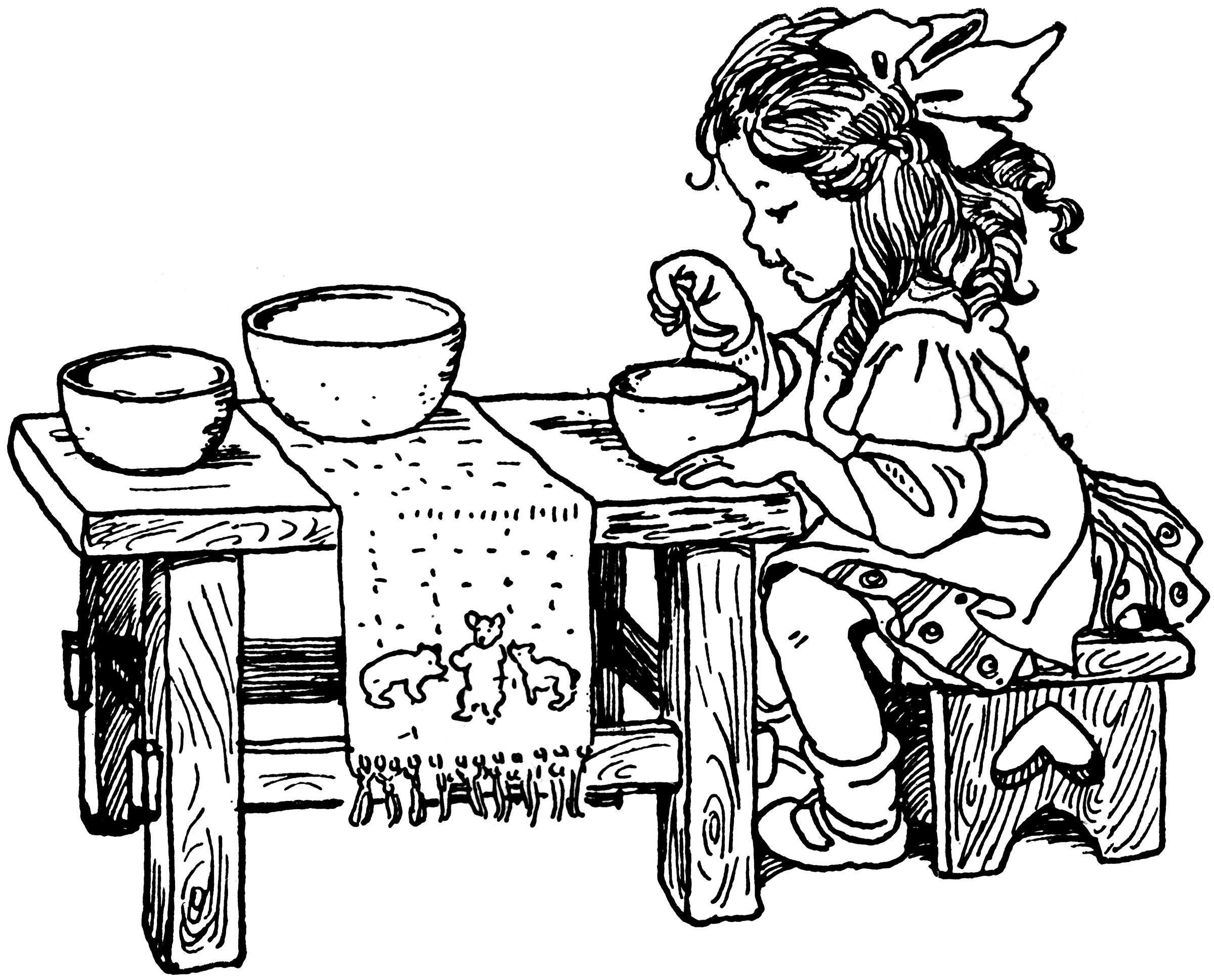 Goldilocks_eating
