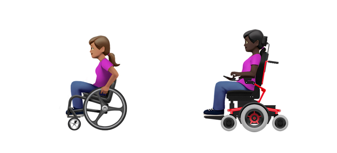 Wheelchair emoji