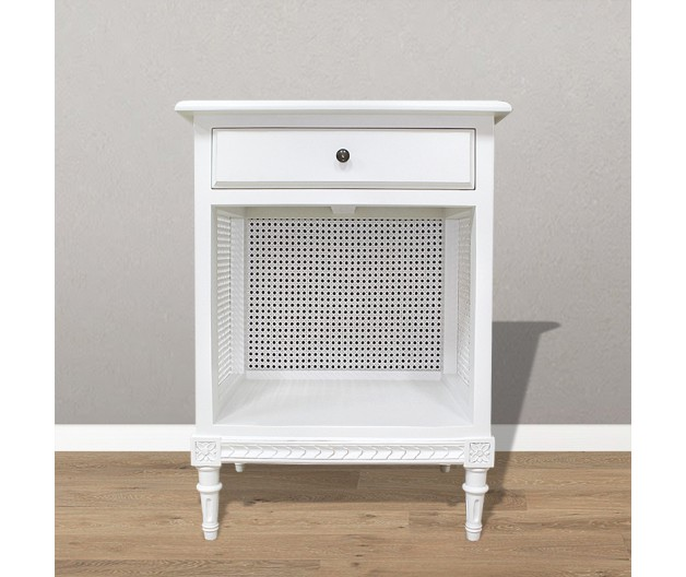 1102 - Gustaivian woven bedside