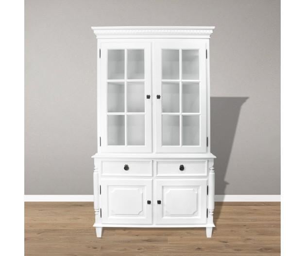 1336 - Gustavian showcase cupboard
