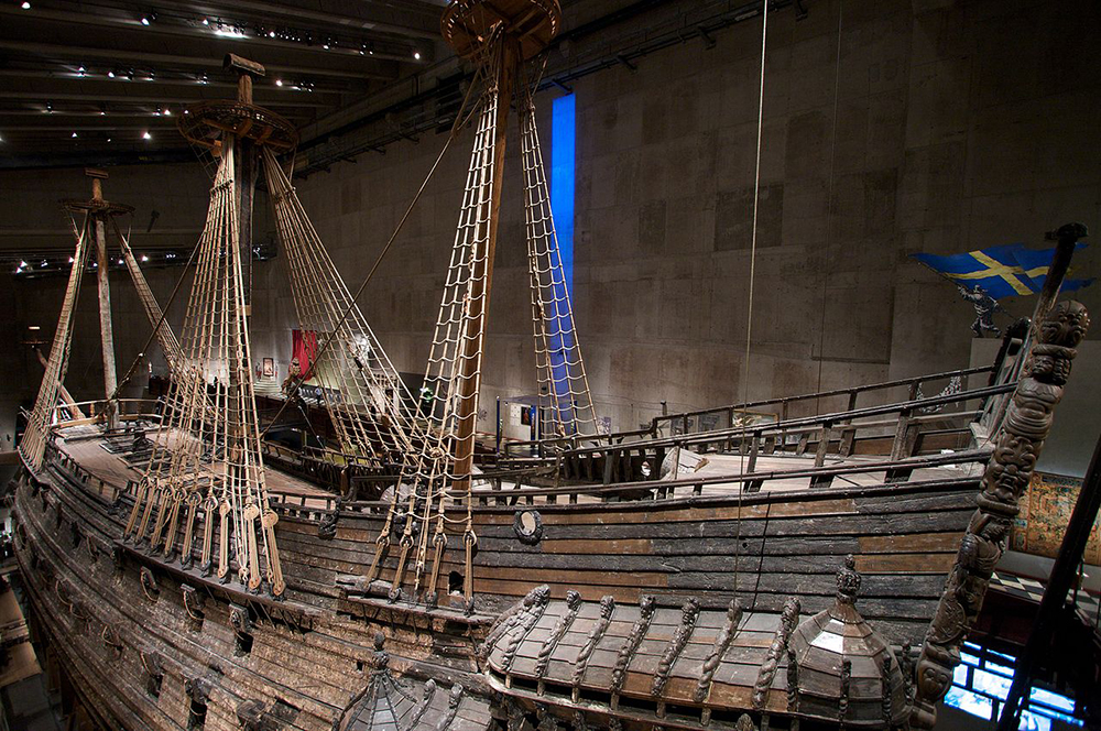 The original ship at Vasa museum in Stockholm