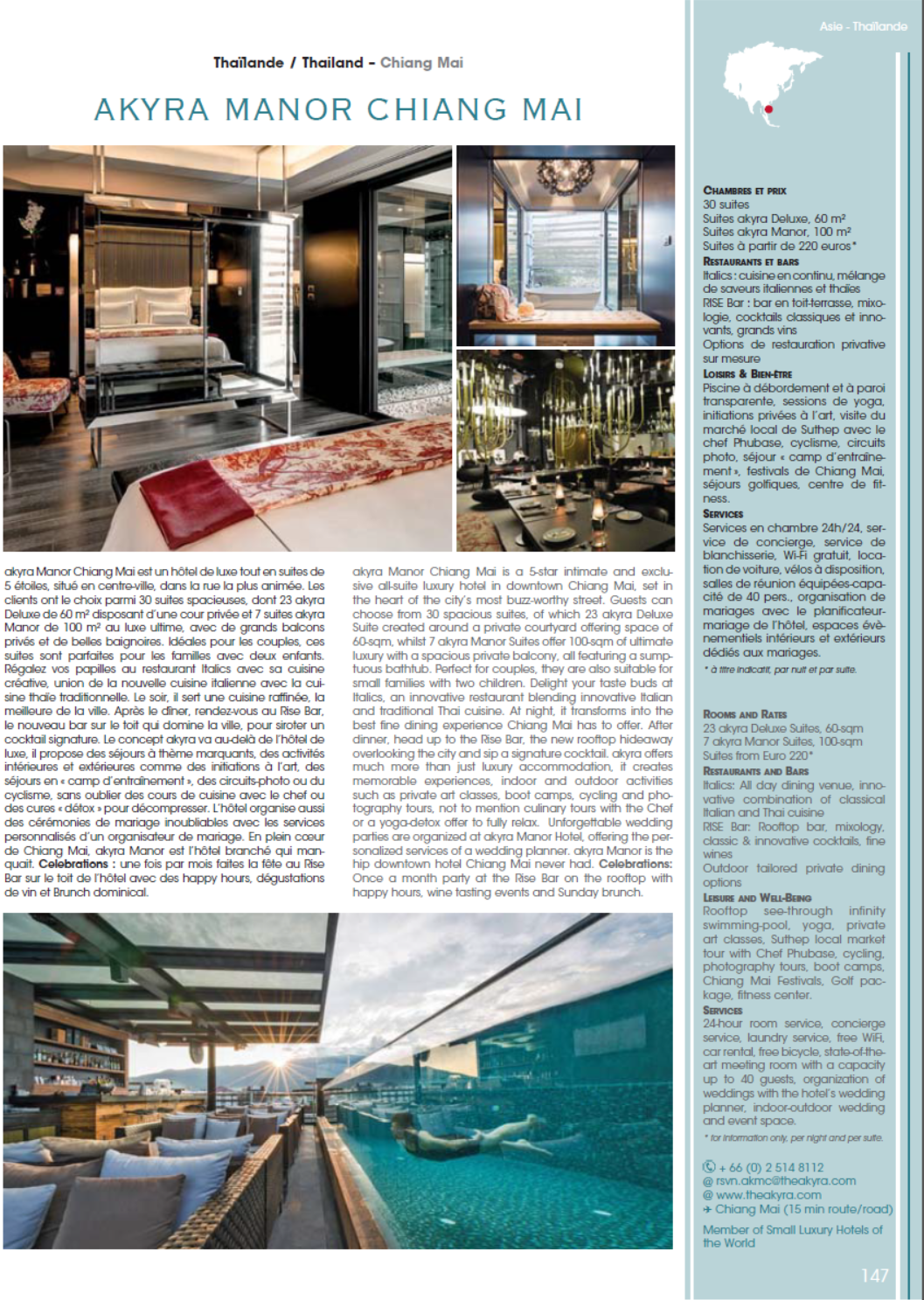 Article: Courtesy of     Best Hotels Magazine #40 CELEBRATIONS