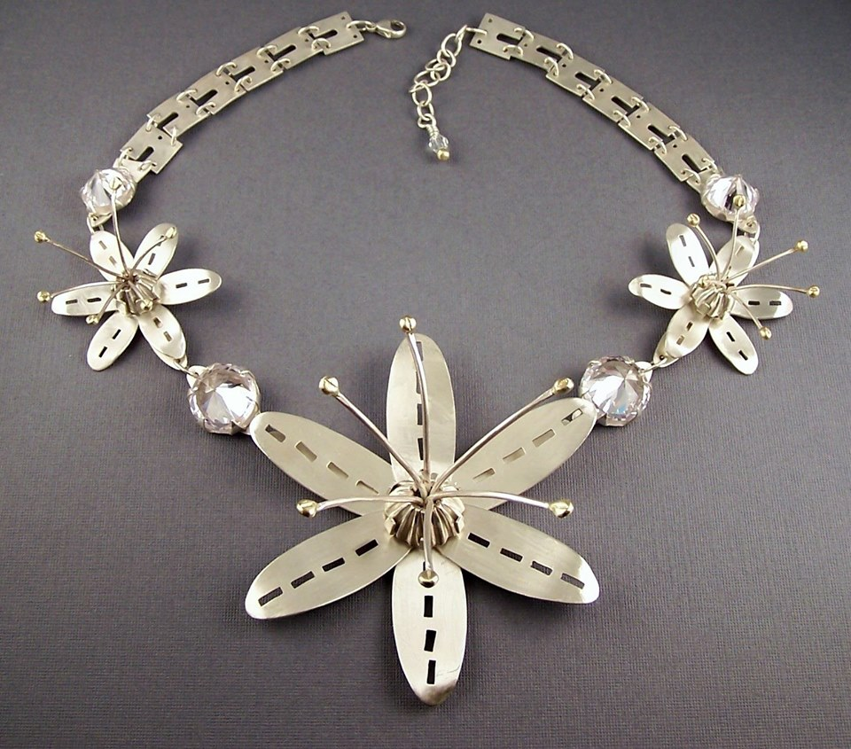 Silver Necklace  by Lisa Dienst-Thomas