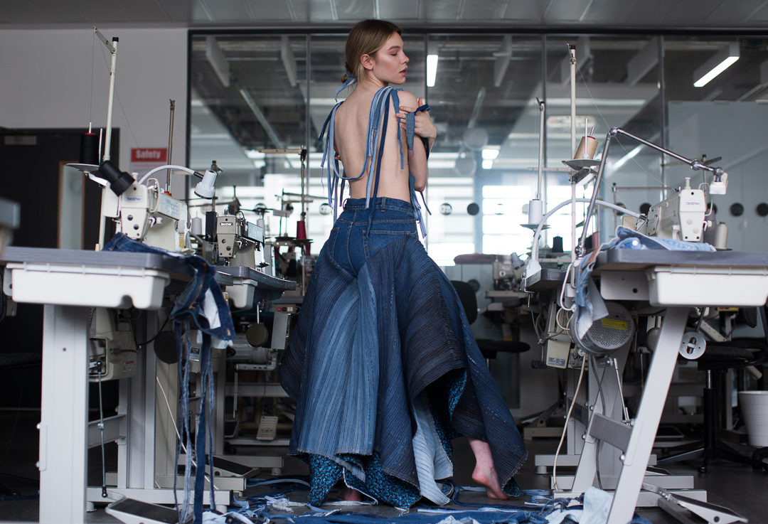 future fashion? - During Graduate Fashion Week 2019 we spoke to one of the many inspirational fashion design graduates featured, Navneet Virk from De Montfort University about her journey into sustainable fashion…