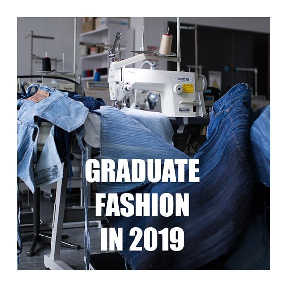 """I believe our role as young designers in this current climate has changed. To be new and innovative without adding to the waste!"" @_seasonless GRADUATE FASHION WEEK FEATURE ONLINE NOW @officialgfw #gfw19 #fashionstudent #fashiondesigner #womenswear #menswear #sustainablefashion #sustainability"
