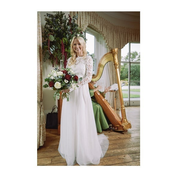 Interview with @indiebride.london my dress designer ONLINE NOW. Venue @kewevents Photographer @matthew_willcocks Hair and Makeup @joelizabethweddings #bohobride #wedding #weddingdress #sustainability #ethicalfashion #london #bridalwear #bohostyle #kewgardens #kewevents #london #londonwedding  #botanical #nature #vintagelace #weddingphotography #styling #photography